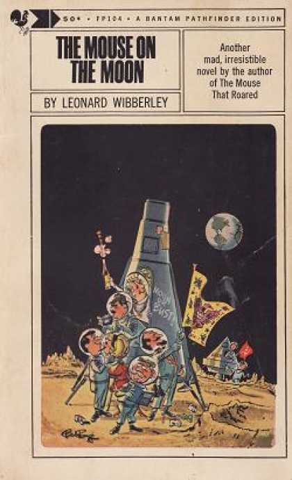 Bantam - The Mouse On the Moon - Leonard Wibberley