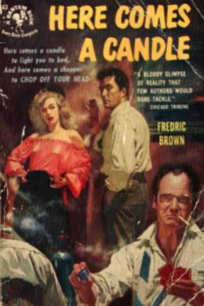 Bantam - Here Comes a Candle - Fredric Brown