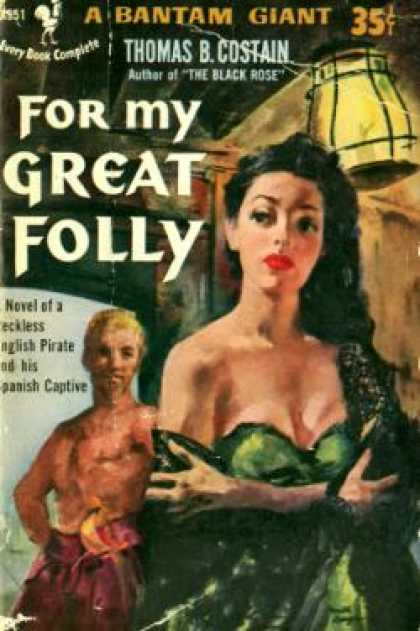 Bantam - For My Great Folly - Thomas B. Costain