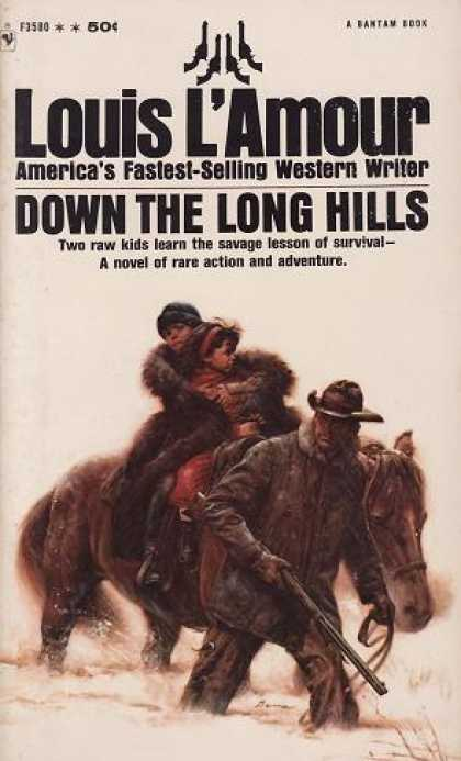 Bantam - Down the Long Hills - Louis L'amour