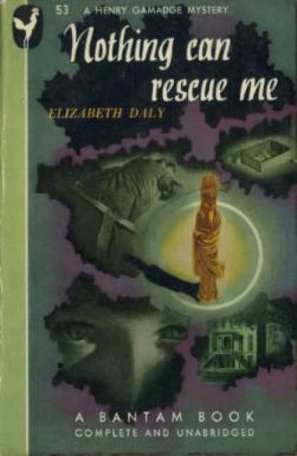 Bantam - Nothing Can Rescue Me - Elizabeth Daly