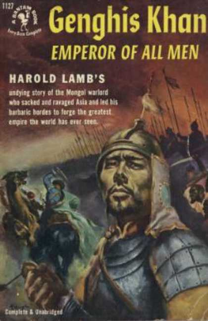 Bantam - Genghis Khan: Emperor of All Men - Harold Lamb