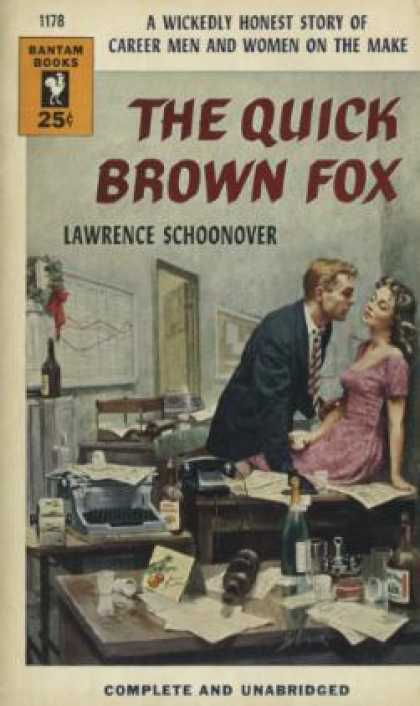 Bantam - The Quick Brown Fox - Lawrence Schoonover