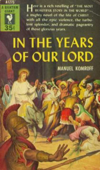 Bantam - In the Years of Our Lord - Manuel Komroff