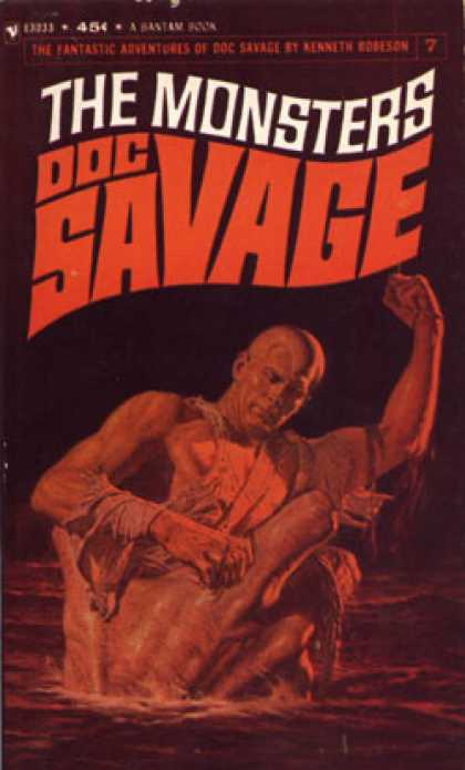 Bantam - Doc Savage: The Monsters