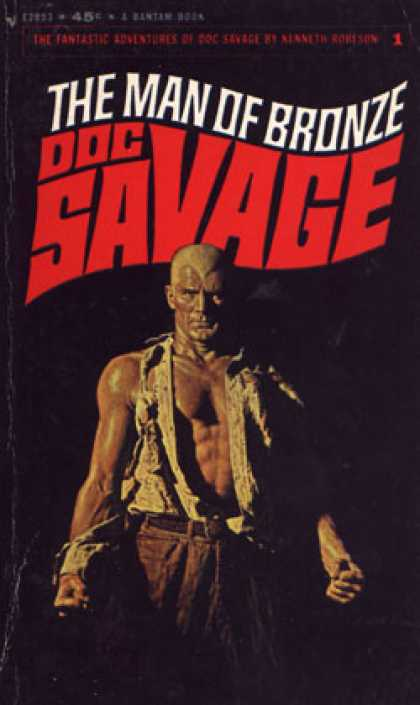 Bantam - The Man of Bronze Doc Savage - Kenneth Robeson