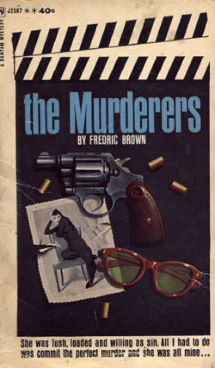 Bantam - The Murderers - Fredric Brown