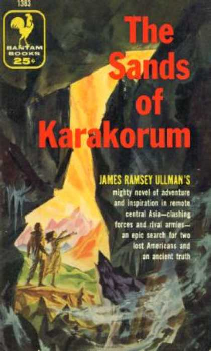 Bantam - The Sands of Karakorum - James Ramsey Ullman