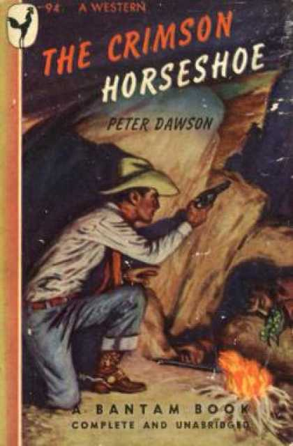Bantam - The Crimson Horseshoe - Peter Dawson