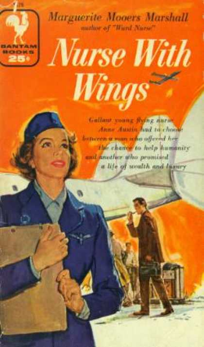 Bantam - Nurse With Wings - Marguerite Mooers Marshall