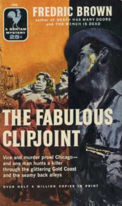 Bantam - Fabulous Clipjoint - Fredric Brown