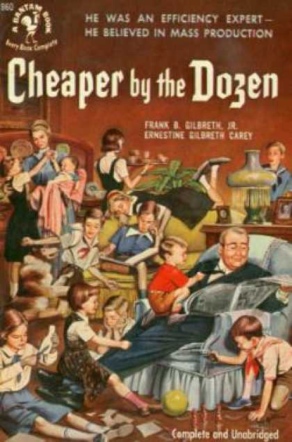 Bantam - Cheaper By the Dozen - Jr., Frank B. Gilbreth