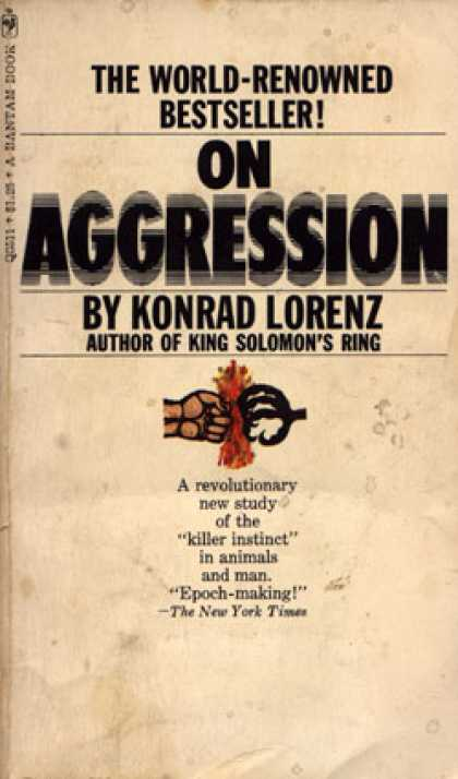 Bantam - On Aggression - Konrad Lorenz