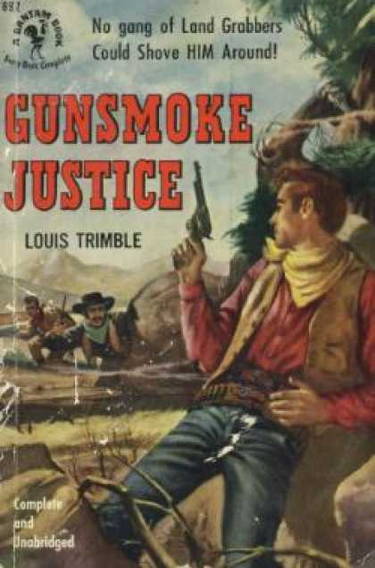 Bantam - Gunsmoke Justice - Louis Trimble