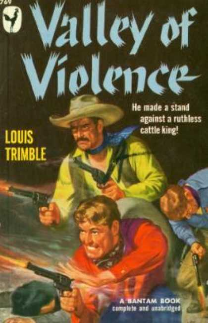 Bantam - Valley of Violence - Louis Trimble