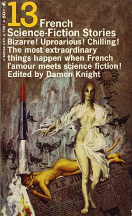 Bantam - 13 French Science Fiction Stories