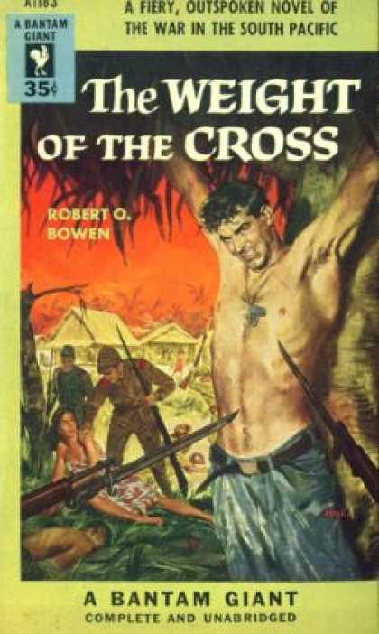Bantam - The Weight of the Cross - Robert O. Bowen