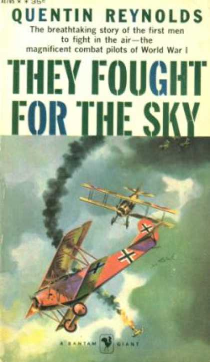 Bantam - They Fought for the Sky - Quentin Reynolds