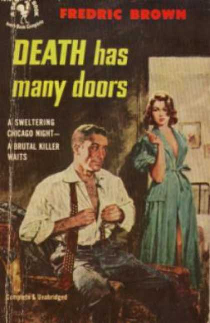 Bantam - Death Has Many Doors - Fredric Brown