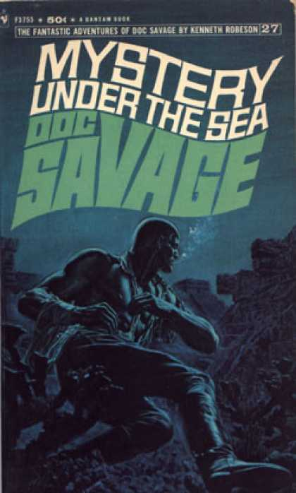 Bantam - Mystery under the sea - Doc Savage