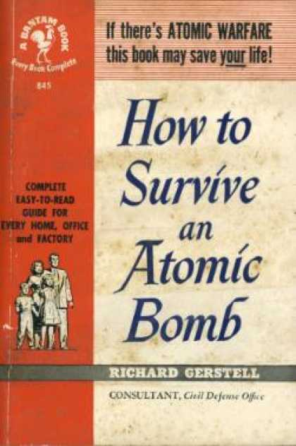 Bantam - How to Survive an Atomic Bomb - Richard Gerstell
