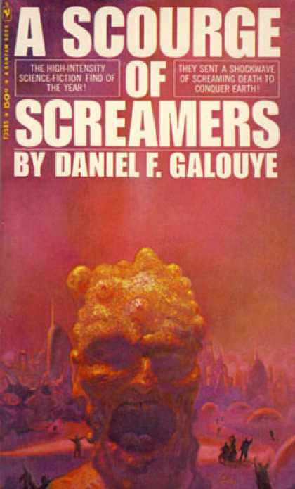 Bantam - A Scourge of Screamers - Daniel F Galouye