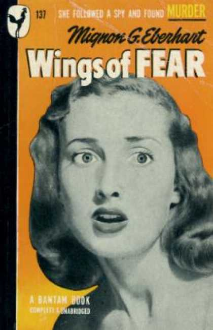 Bantam - Wings of Fear - Mignon G. Eberhart
