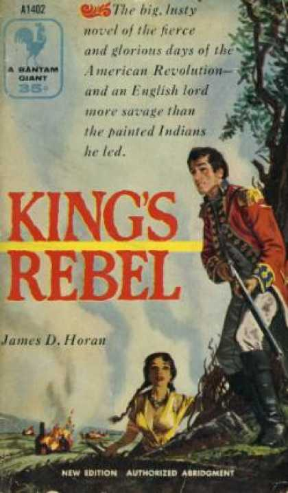 Bantam - King's Rebel - James David Horan