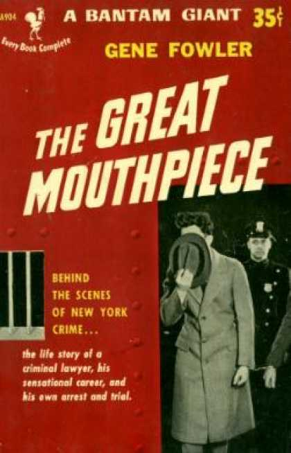 Bantam - The Great Mouthpiece - Gene Fowler