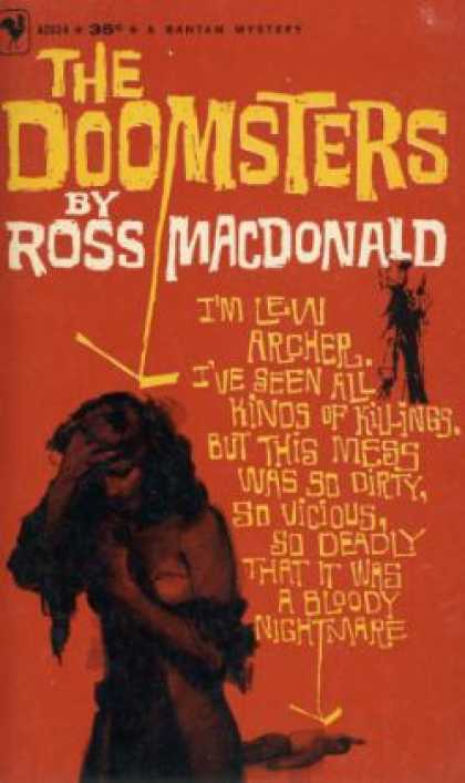 Bantam - The Doomsters (vintage Bantam, A2024) - Ross Macdonald (pseud. Kenneth Millar)