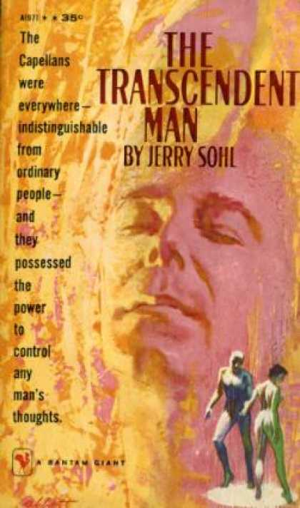 Bantam - The Transcendent Man. - Jerry. Sohl