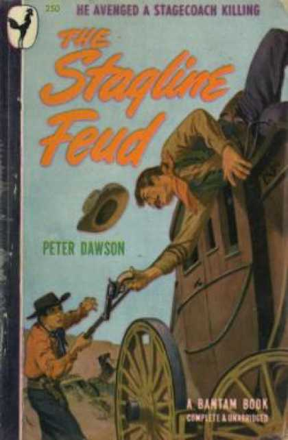 Bantam - The Stagline Feud - Peter Dawson