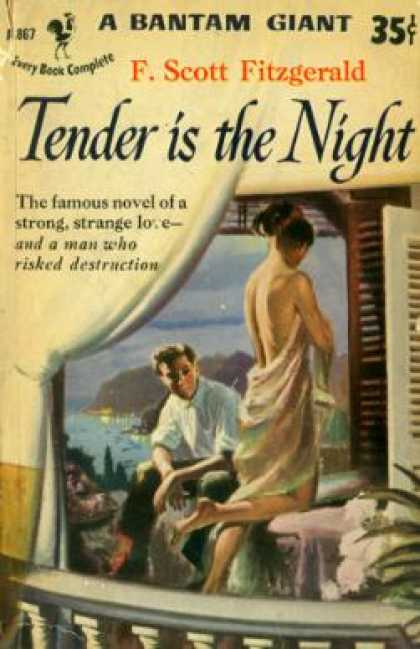 Bantam - Tender is the Night - F. Scott Fitzgerald