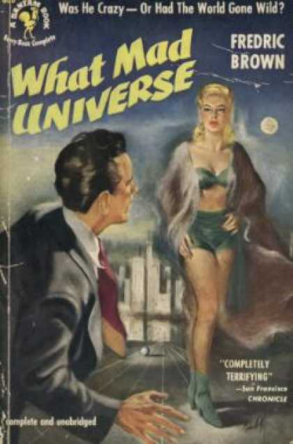 Bantam - What mad universe - Fredric Brown