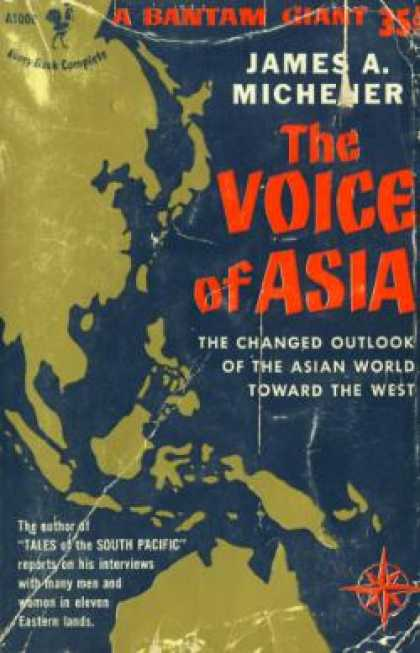 Bantam - The Voice of Asia - James Michener