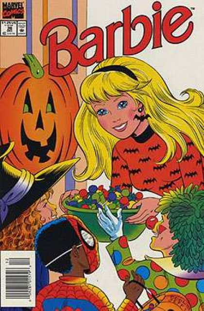 Barbie 36 - Marvel Comics - Halloween - Trick Or Treat - Pumpkin - Candy