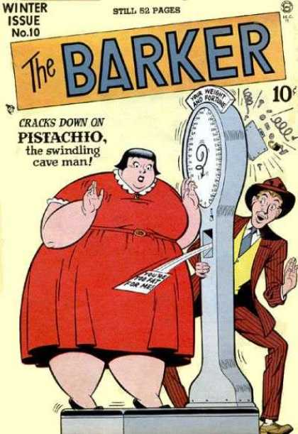Barker 10 - Winter Issue - Cracks Down On Pistachio - The Swindling Cave Man - Heavy Personality - Machine