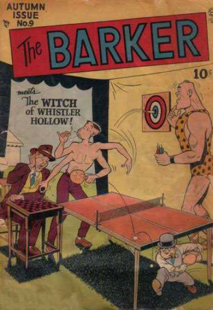 Barker 9 - Autumn Issue No9 - The Witch - Table Tennis - Cap - Ball