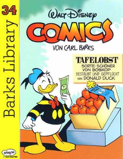 Barks Library 113 - Donald Duck - Apples - Wink - Dollar - Box