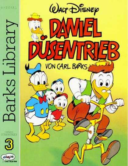 Barks Library 3 - Donald Ducks - Children Ducks - Bicycle That Walks - Watching - Riding