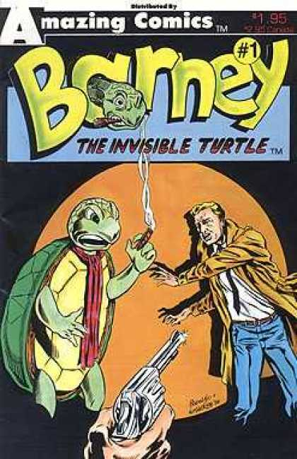 Barney the Invisible Turtle 1