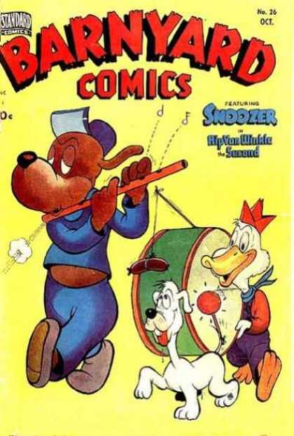 Barnyard Comics 26 - Noozer - Hip Von Winkle - Animal Marching Band - Issue 26 - October Issue