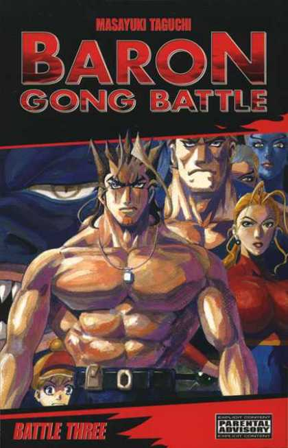 Baron Gong Battle 3 - Masayuki Taguchi - Battle Three - Parental Advisory - Man - Woman