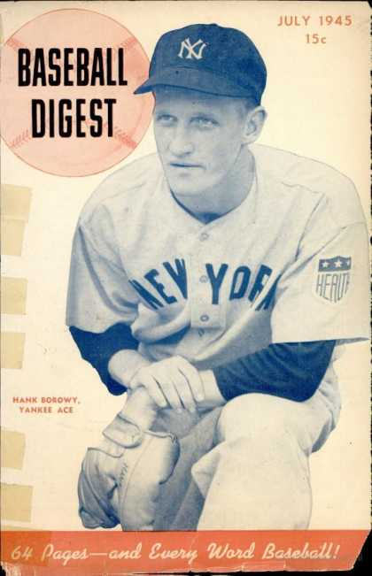 Baseball Digest - July 1945