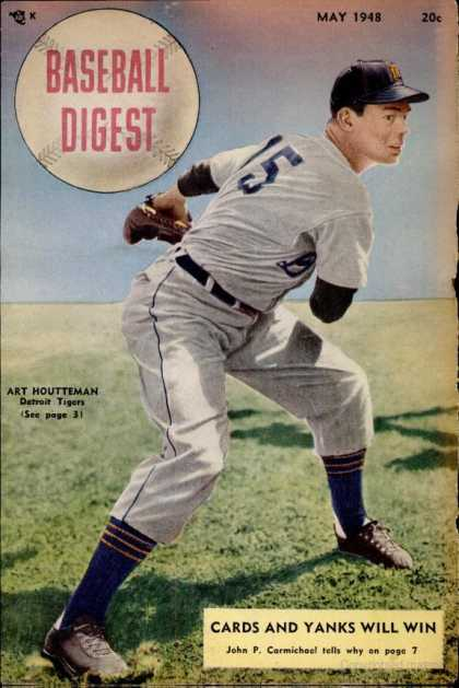 Baseball Digest - May 1948