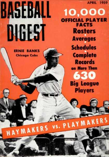 Baseball Digest - April 1959
