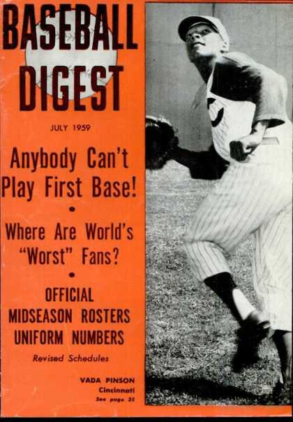 Baseball Digest - July 1959