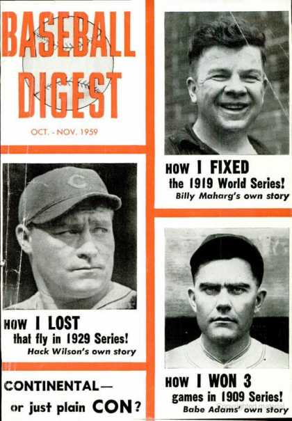 Baseball Digest - October 1959