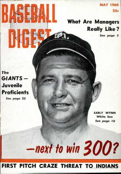 Baseball Digest - May 1960