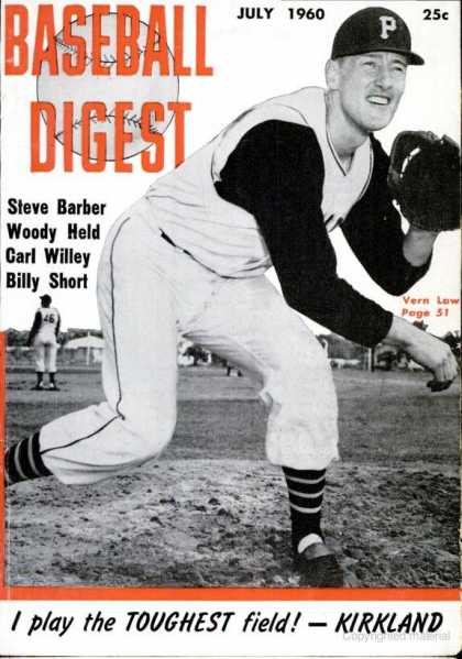 Baseball Digest - July 1960